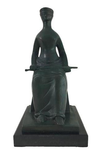 Ceschiatti Escultura Em Bronze Assinada Justiça