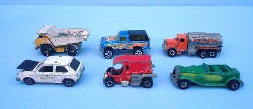 Lote Miniaturas Hot Wheels Antigos C14