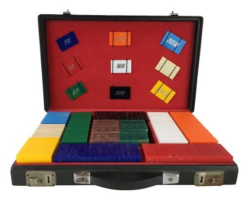 Maleta De Poker Antiga 509 Fichas