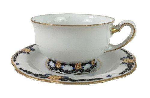 Xicara Antiga De Cafe Porcelana Bavaria