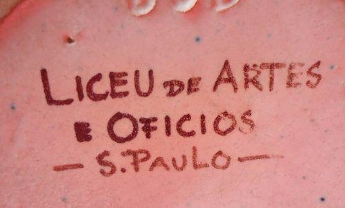 Lindo Vaso Liceu De Artes E Oficio São Paulo