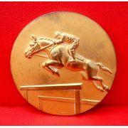 Belissima Medalha Hipismo Homenagem Ypê 1970