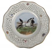 Prato Raso Antigo Porcelana Bavaria 29cm