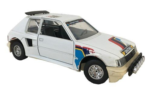 Carro Miniatura Peugeot 205 Turbo Burago 1/25