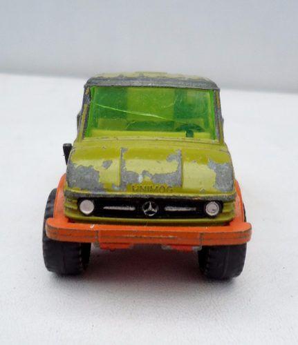 Antigo Siku Mercedes Unimog
