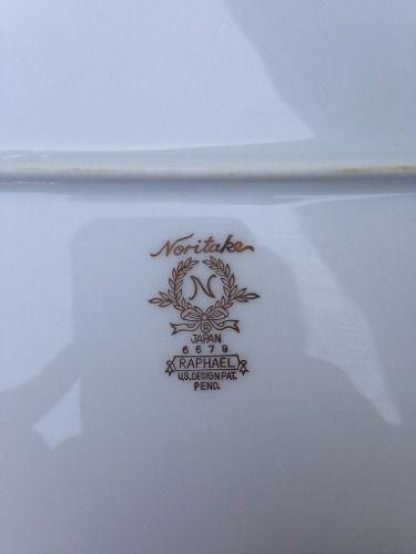 Espetacular Aparelho De Jantar Noritake Borda Ouro 119 Pçs