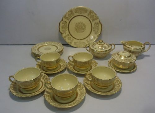Antigo Aparelho De Chá Ingles Johnson Bros Belissimo