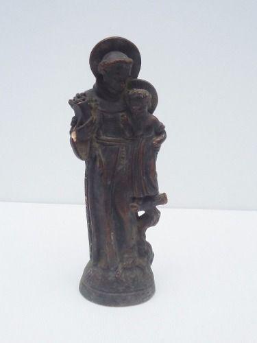 Arte Sacra Imagem Santo Antonio 23cm De Altura