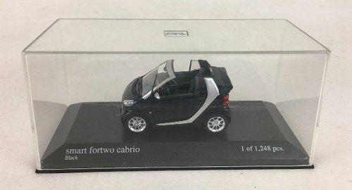 Miniatura Smart Fortwo Cabriolet Mini Champs Rica Em Detalhe