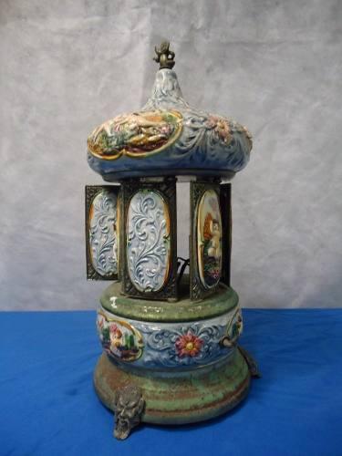 Rarissima Toca Musica Porcelana Capodimonte Italiana