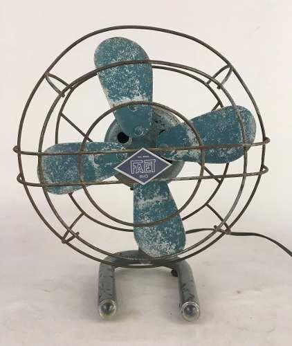 Antigo Ventilador Pequeno Faet Funcionando 110v
