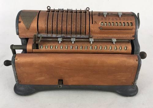 Antiga Maquina Calculadora Marchant