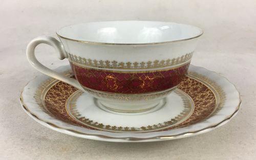 Xicara De Cha Antiga Porcelana Steatita (valor Unitario)