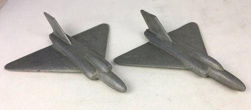 Miniatura Avião De Caça Antigo Em Aço (valor Unitário)