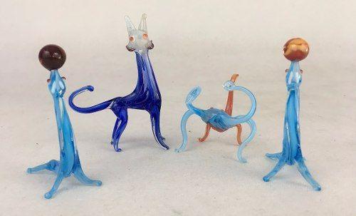 Animais Bichos Decorativos Em Murano