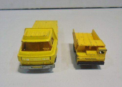 Matchbox Super Kings K-36 E Super Fast Faun Dump Truck Nº 58