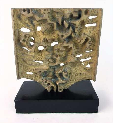 Escultura Em Bronze Hugo Rodrigues
