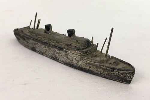 Antiga Miniatura Navio Polones Pilsudski