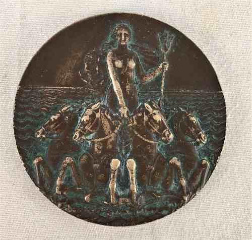 Antiga Medalha Navio L'atlantique 1931