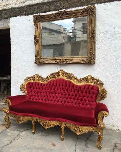 Espelho Classico Retangular Bisotado 156x126 Cm