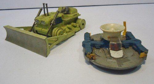 Carrinho Corgi Major Toys Euclid Tractor E Hovercraft C14