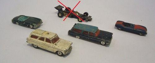 Antigos Carrinhos Corgi Toys (preço Do Lote) C7