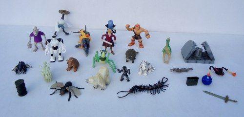Barato! Lote De Brinquedos - Golfinho Urso Aranha Etc