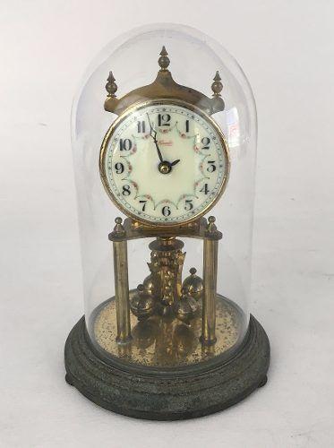 3751975e493 Antigo Relógio De Mesa Kundo Com Cúpula - Império dos Antigos
