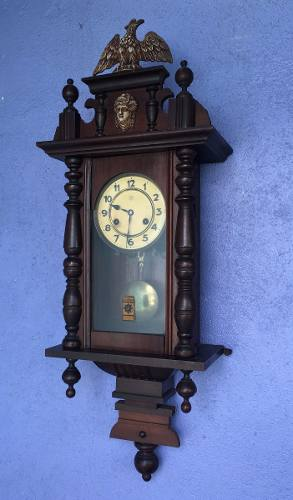 Relógio De Parede Antigo Junghans Funcionando