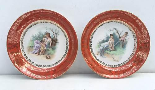 Prato Fundo Porcelana Alemã Bavaria (valor Unitário)