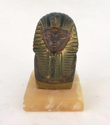 Escultura Egipcia Faraó Tutankamon