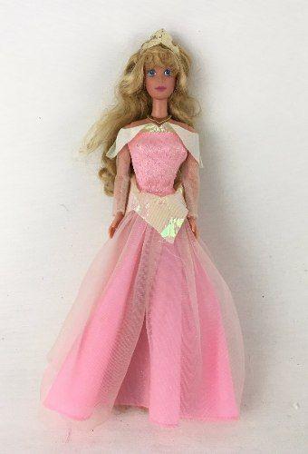 Boneca Disney Barbie Bela Adormecida Aurora