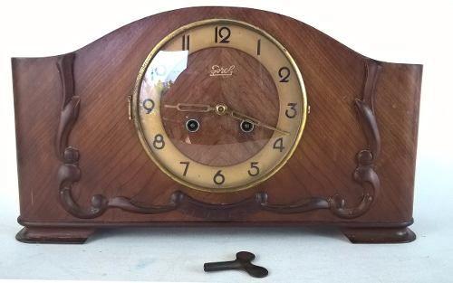 Antigo Relógio De Mesa Sorel Funcionando