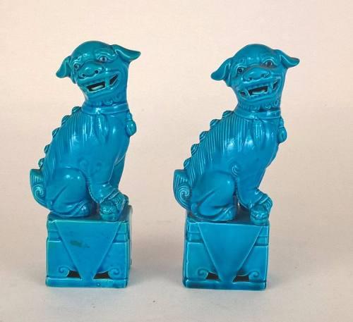 Cão De Fó Porcelana 16,5cm (valor Unitário)