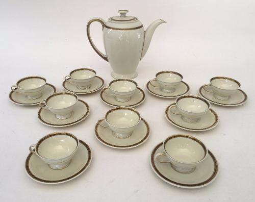 Antigo Conjunto De Café Porcelana Rosenthal