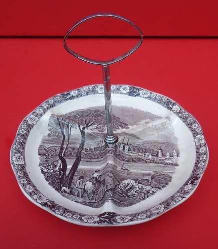 Antiga Petisqueira Porcelana Inglesa