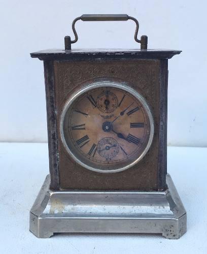 Antigo Relógio Despertador Junghans De Mesa A Corda