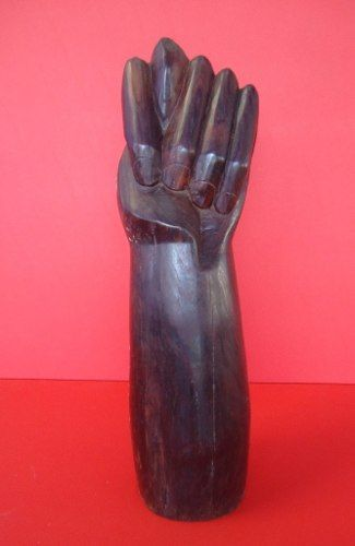 Antiga Figa Em Jacaranda Gigante 7kg