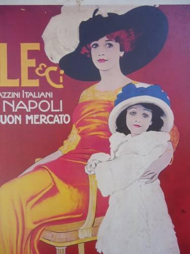 Poster Antigo Mele E Ci Confecções