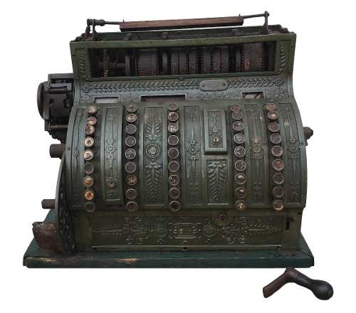 Antiga Maquina Registradora National