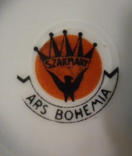 Antigo Conjunto Para Cafe Ars Bohemia