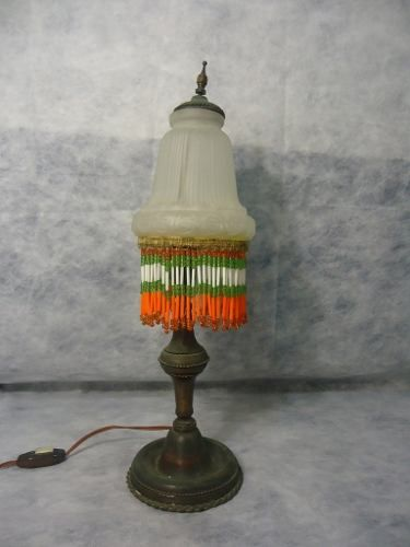 Bela Luminaria Em Ferro Antiga Detalhes Artesanais