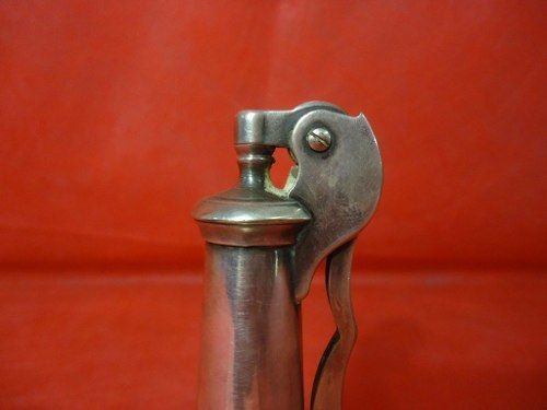 Antigo Isqueiro Ronson Prata 90 Modelo Decanter