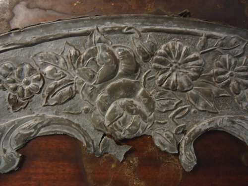 Antiguissimo Porta Chaveiro Porta Treco Em Madeira Ferro