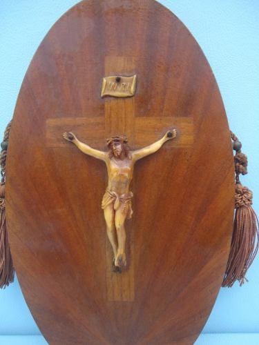 Antigo Crucifixo Cristo Na Cruz