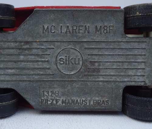 Antigo Siku Manaus Mc Laren M8f Nº 1328 (valor Unitário)