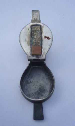 Antigo Fole Acendedor Em Miniatura