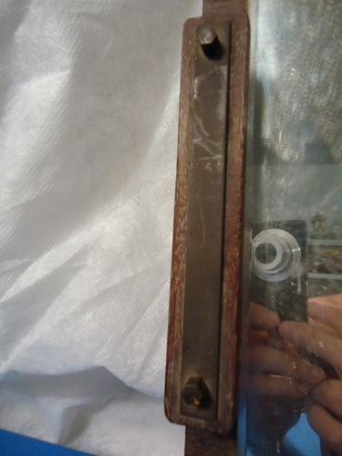 2 Bandejas Em Madeira Com Espelho E Detalhe Em Ferro