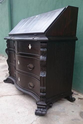 Antiga Comoda Papeleira Dom João