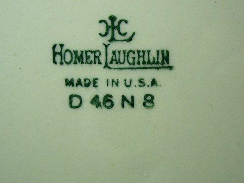 Belissimo Aparelho De Jantar Americano Homer Laughlin